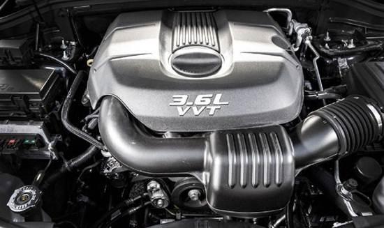 2016 Dodge Durango Citadel Engine