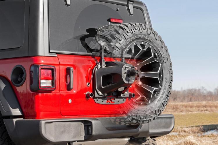 スペアタイヤリロケーションブラケット 18y〜 Jeep JLラングラー アンリミテッド 右・左ハンドル用 image3