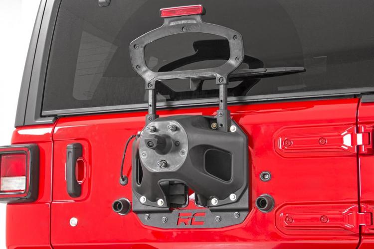 スペアタイヤリロケーションブラケット 18y〜 Jeep JLラングラー アンリミテッド 右・左ハンドル用 image1