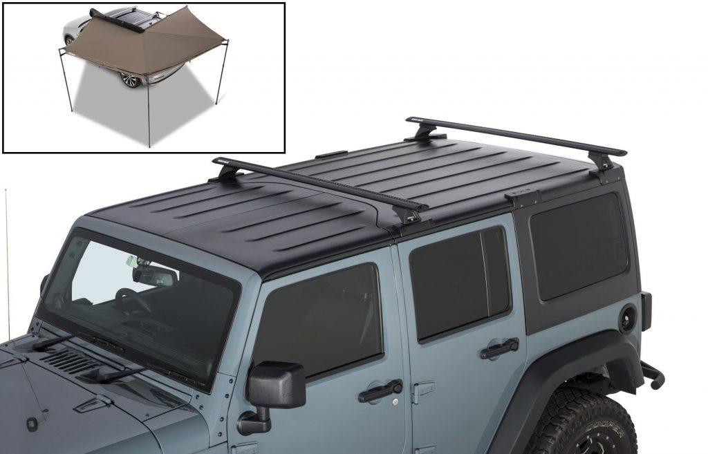 Rhino-Rack(ライノラック) クロスバー 18y Jeep Jlラングラー ラングラーアンリミテッド用 image2
