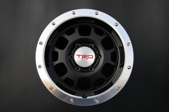 タコマ FJクルーザー ハイラックス 用 TRD16インチホイール ビートロック付き image2